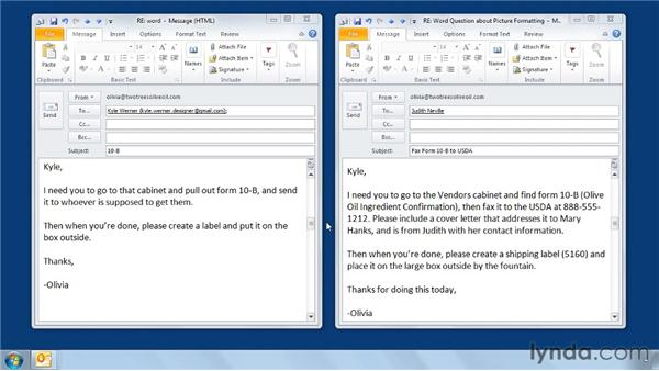 Ten email netiquette tips: Outlook 2010 Power Shortcuts