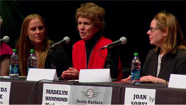 Giving back: 2010 SBIFF Women's Panel: Creative Women in the Business