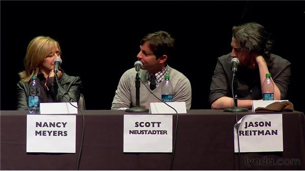 Personal writing process (cont.): 2010 SBIFF Writers' Panel: It Starts with the Script