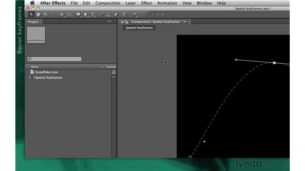 Exploring spatial keyframes: After Effects Apprentice 02: Basic Animation