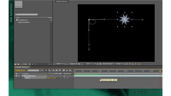 Using hold keyframes: After Effects Apprentice 02: Basic Animation