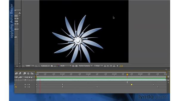 Instant gratification: Auto Bézier: After Effects Apprentice 03: Advanced Animation