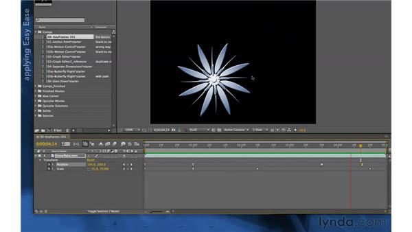 Instant gratification: Easy Ease: After Effects Apprentice 03: Advanced Animation