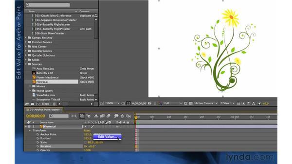 Exploring an alternate way to edit: After Effects Apprentice 03: Advanced Animation