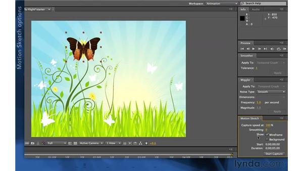 Using Motion Sketch: After Effects Apprentice 03: Advanced Animation