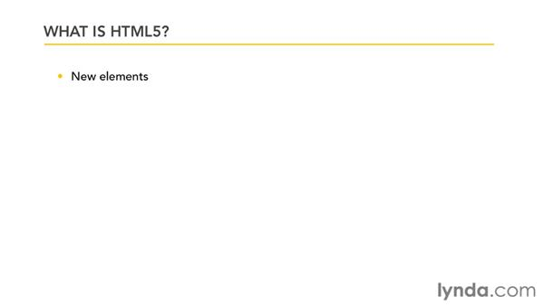 What is HTML5?: iOS 4 Web Applications with HTML5 and CSS3