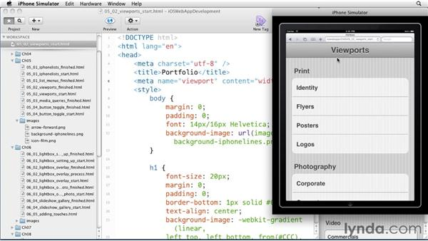 Understanding viewports: iOS 4 Web Applications with HTML5 and CSS3