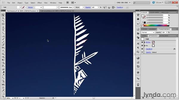 Repeating the last effect you applied: Illustrator CS5 One-on-One: Mastery