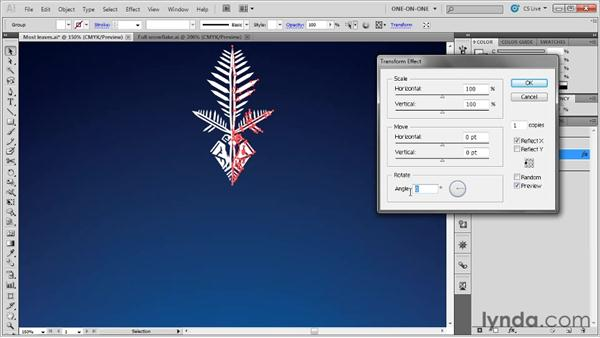 Applying multiple passes of a single effect: Illustrator CS5 One-on-One: Mastery