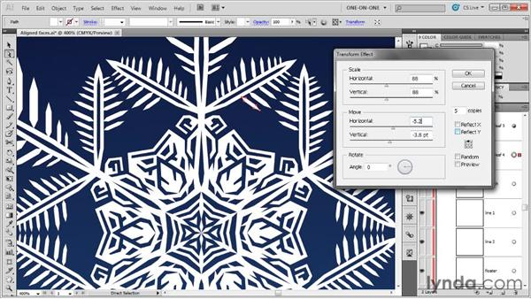 Applying effects inside effects: Illustrator CS5 One-on-One: Mastery