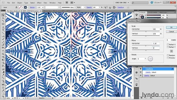 Building a complex bevel effect: Illustrator CS5 One-on-One: Mastery