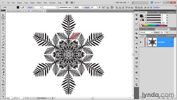 Editing that Smart Object in Illustrator: Illustrator CS5 One-on-One: Mastery
