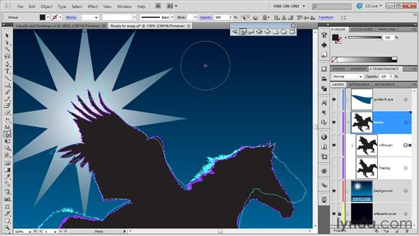 Brush size, Detail, and Simplify: Illustrator CS5 One-on-One: Mastery