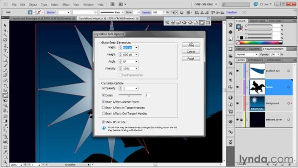 Creating a mind-blowing custom starburst: Illustrator CS5 One-on-One: Mastery