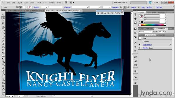 Editing the contents of an envelope: Illustrator CS5 One-on-One: Mastery