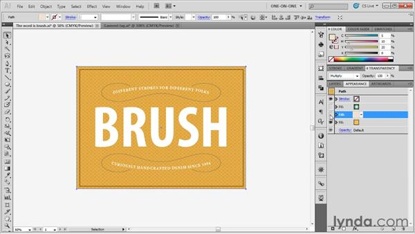 Weaving a pattern throughout an illustration: Illustrator CS5 One-on-One: Mastery