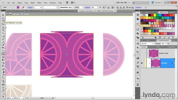 Start, end, and corner tiles: Illustrator CS5 One-on-One: Mastery
