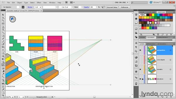 Introducing Illustrator's Perspective Grid: Illustrator CS5 One-on-One: Mastery