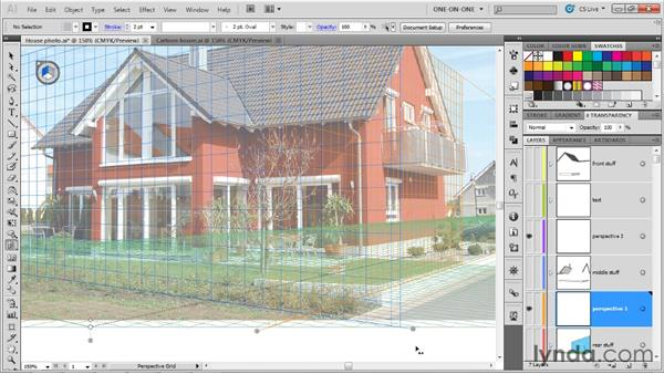 Setting up a Perspective Grid: Illustrator CS5 One-on-One: Mastery