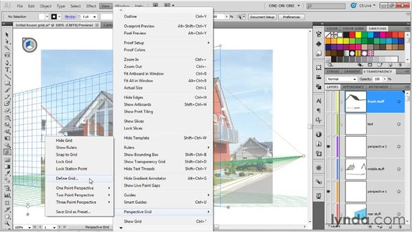 Perspective Grid tips and tricks: Illustrator CS5 One-on-One: Mastery