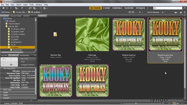 Streamlining by disabling dialog boxes: Illustrator CS5 One-on-One: Mastery