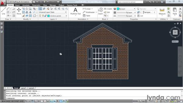 Finding hatch boundaries in busy drawings: AutoCAD: Tips, Tricks, and Industry Secrets