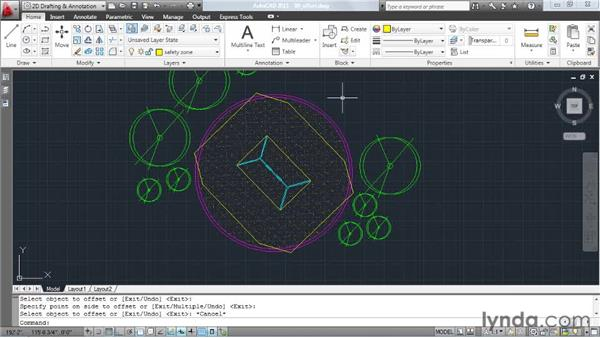 Creating true offsets: AutoCAD: Tips, Tricks, and Industry Secrets