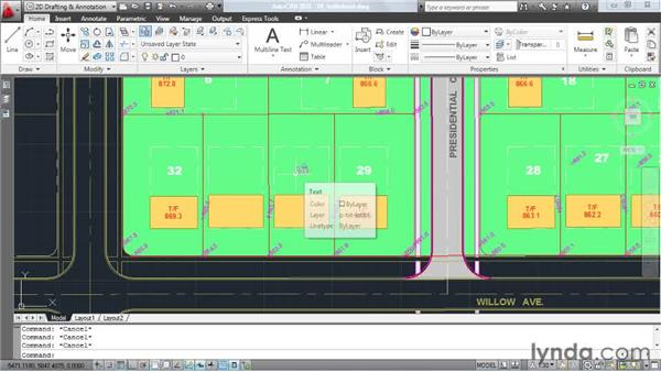 Bringing all text objects to the front: AutoCAD: Tips, Tricks, and Industry Secrets