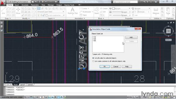Hiding extra annotative scales: AutoCAD: Tips, Tricks, and Industry Secrets