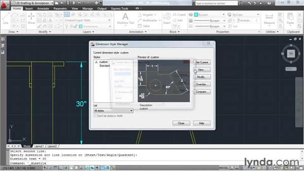 Creating parent/child dimension styles: AutoCAD: Tips, Tricks, and Industry Secrets