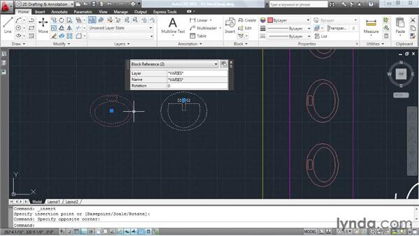 Exchanging one block symbol for another: AutoCAD: Tips, Tricks, and Industry Secrets