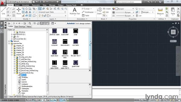 Creating a block library in two clicks: AutoCAD: Tips, Tricks, and Industry Secrets