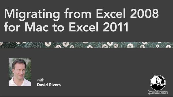 Welcome: Migrating from Excel 2008 for Mac to Excel 2011