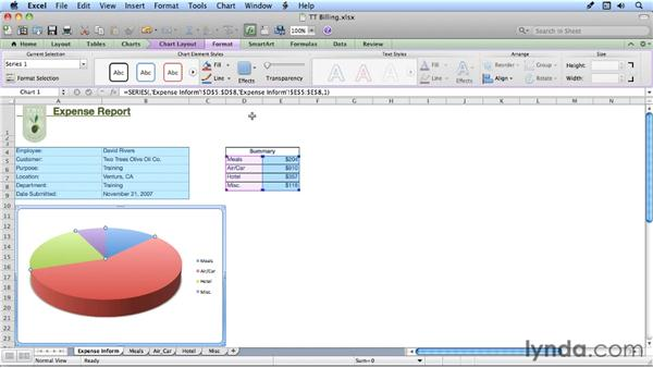 Exploring the new Ribbon interface: Migrating from Excel 2008 for Mac to Excel 2011