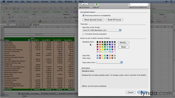 Changing the default file format in Excel 2011: Migrating from Excel 2008 for Mac to Excel 2011