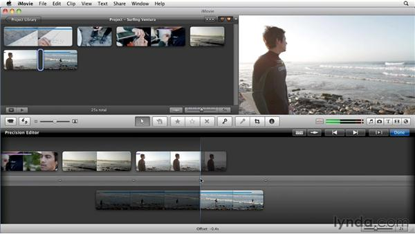Fine-tuning clips: iMovie 11 Essential Training
