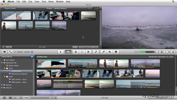 The advanced Edit tool: iMovie 11 Essential Training