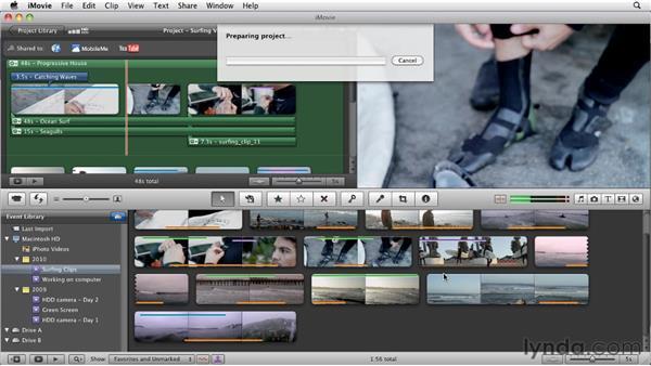 Publishing to Facebook: iMovie 11 Essential Training