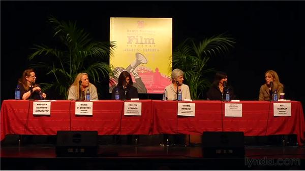 Making an impact: 2011 SBIFF Women's Panel: Creative Forces: Women in the Business