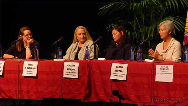 Advice from the pros: 2011 SBIFF Women's Panel: Creative Forces: Women in the Business
