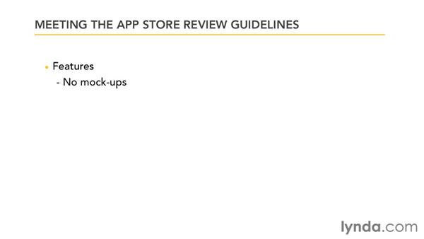 Meeting the review guidelines: Distributing Mac OS X Applications Through the App Store