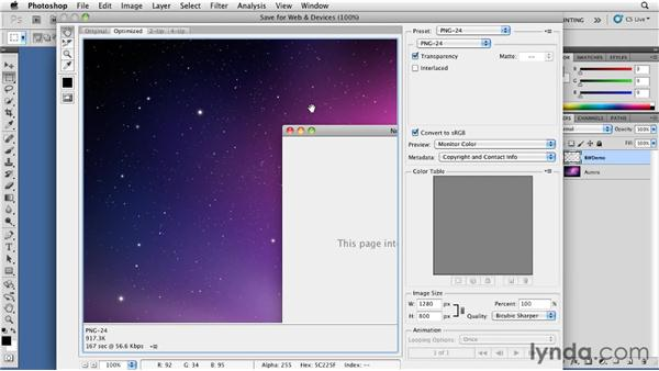 Creating screenshots: Distributing Mac OS X Applications Through the App Store