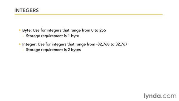 Understanding number field sizes: Access 2010 Power Shortcuts