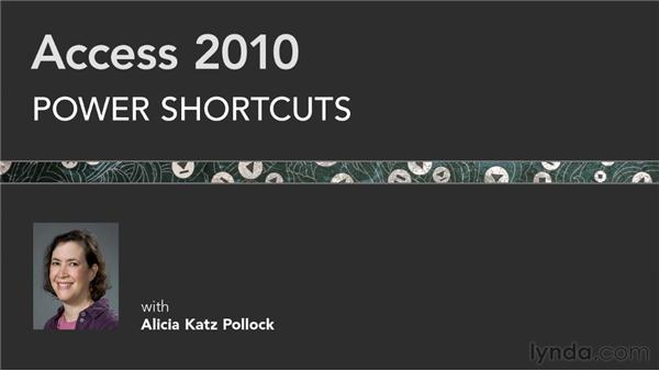 Goodbye: Access 2010 Power Shortcuts