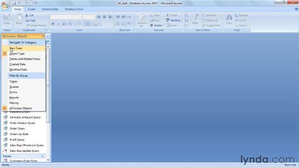 Turning the Navigation pane into a switchboard: Access 2007 Power Shortcuts
