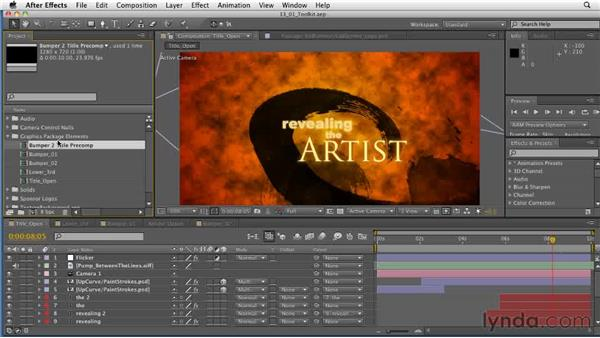 Defining the toolkit: After Effects: Principles of Motion Graphics