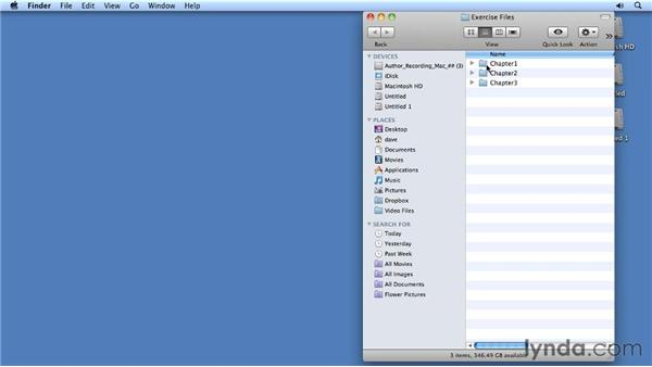 Using the exercise files: Migrating from PowerPoint 2008 for Mac to PowerPoint 2011