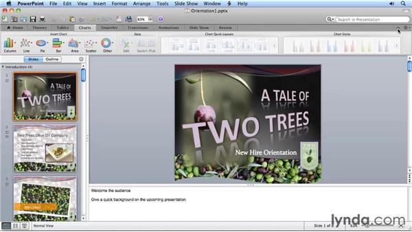 Exploring the new Ribbon interface: Migrating from PowerPoint 2008 for Mac to PowerPoint 2011
