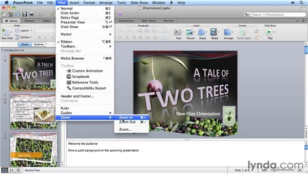 Controlling PowerPoint 2011 with keyboard shortcuts: Migrating from PowerPoint 2008 for Mac to PowerPoint 2011