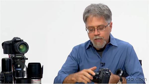 Changing lenses: Foundations of Photography: Lenses
